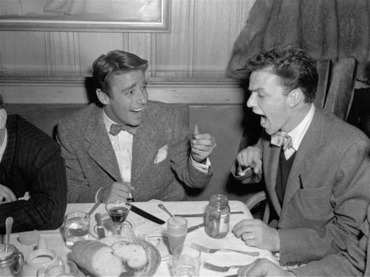 Peter Lawford & Frank Sinatra
