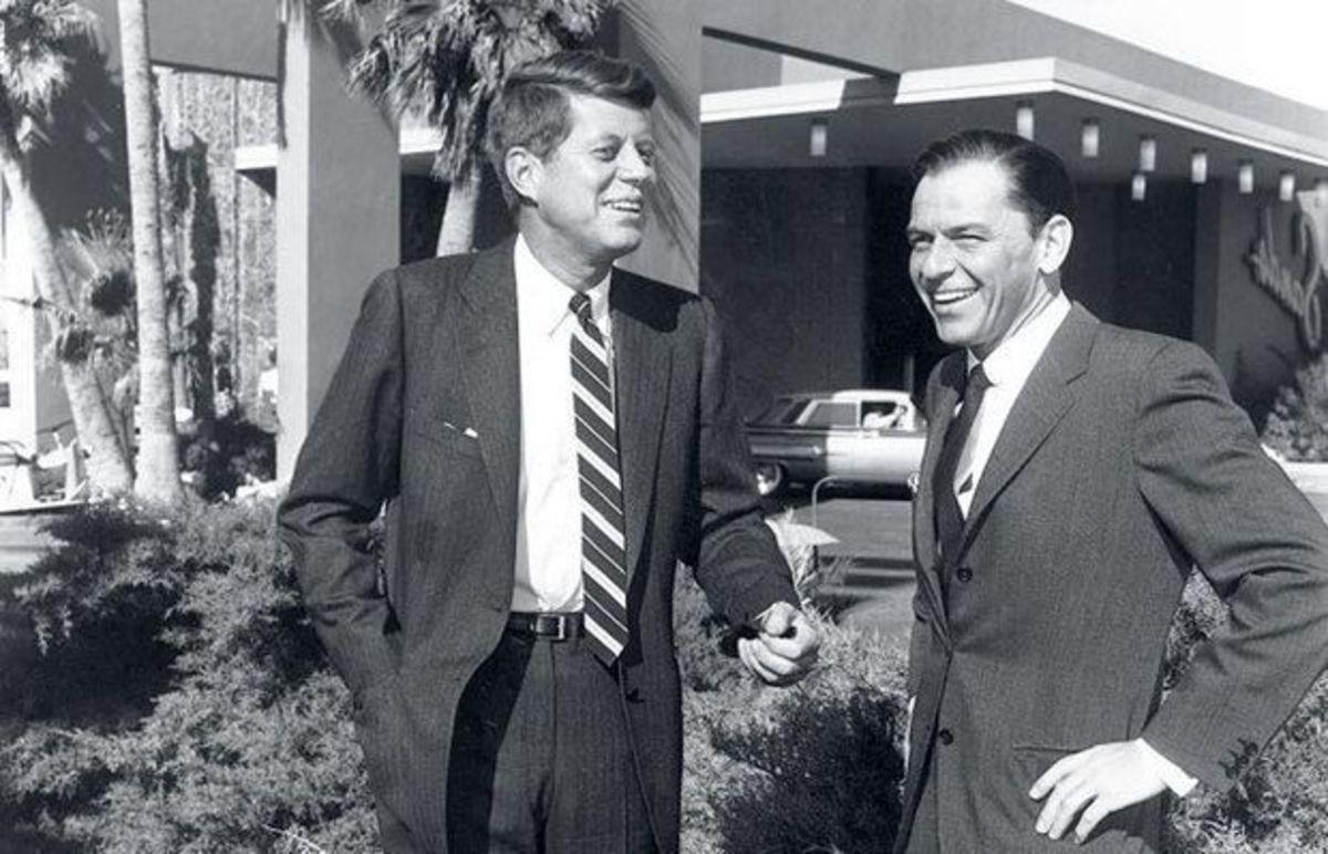 John F. Kennedy & Frank Sinatra