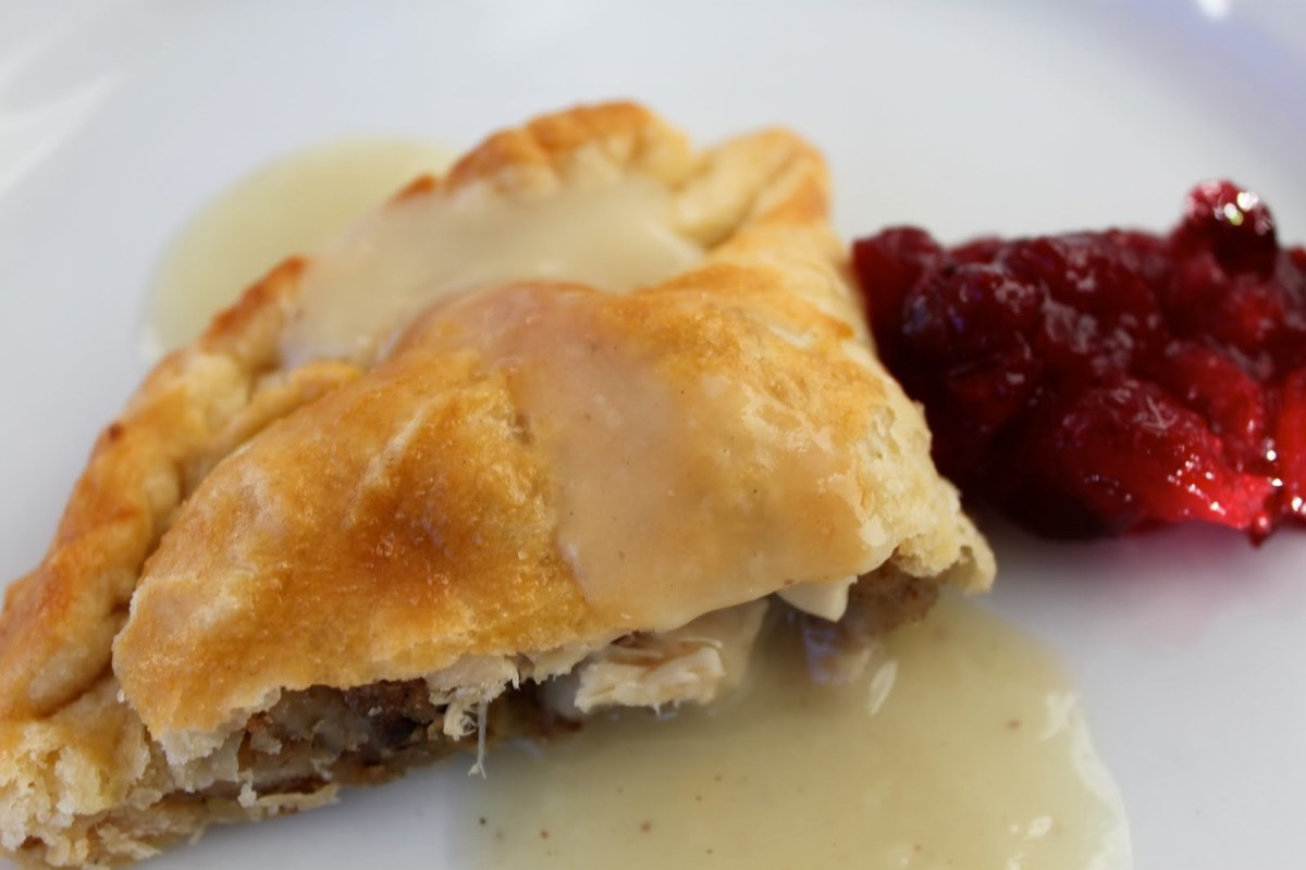 Thanksgiving turkey pasties