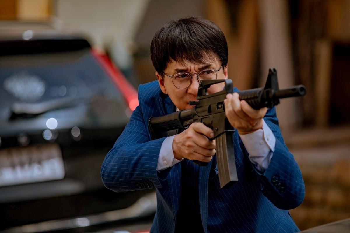 Jackie Chan as Tang Huating in Vanguard.