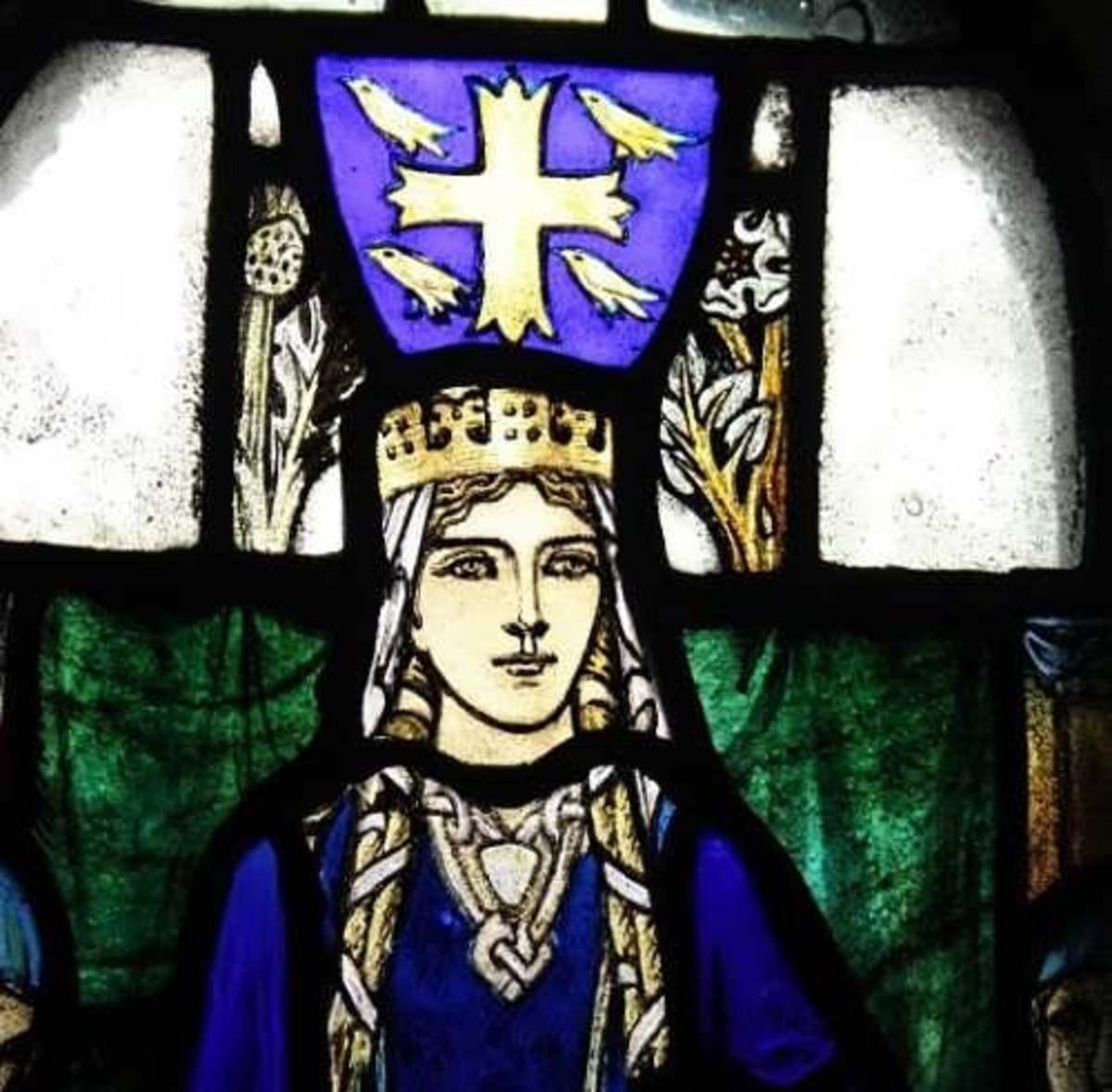 Gytha, grand-daughter of Gytha, given in wedlock by Svein Estrithsson (on Harold's behalf) to Valdemar the Grand Prince of Smolensk and Koenungagard (Kiev)