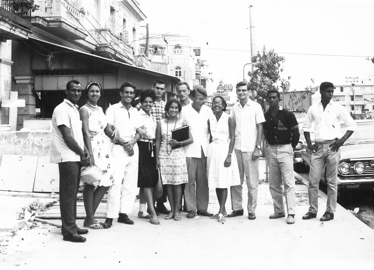 Joris Ivens & Theodor Christensen Revolutionary Cuban Cine group.