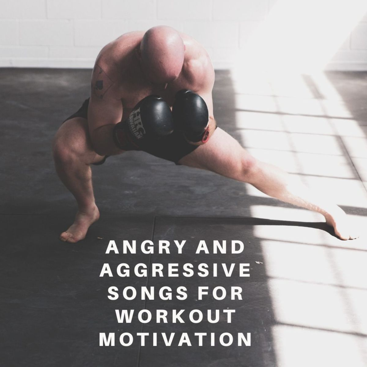 Get motivated to work out hard with these angry and aggressive tracks!