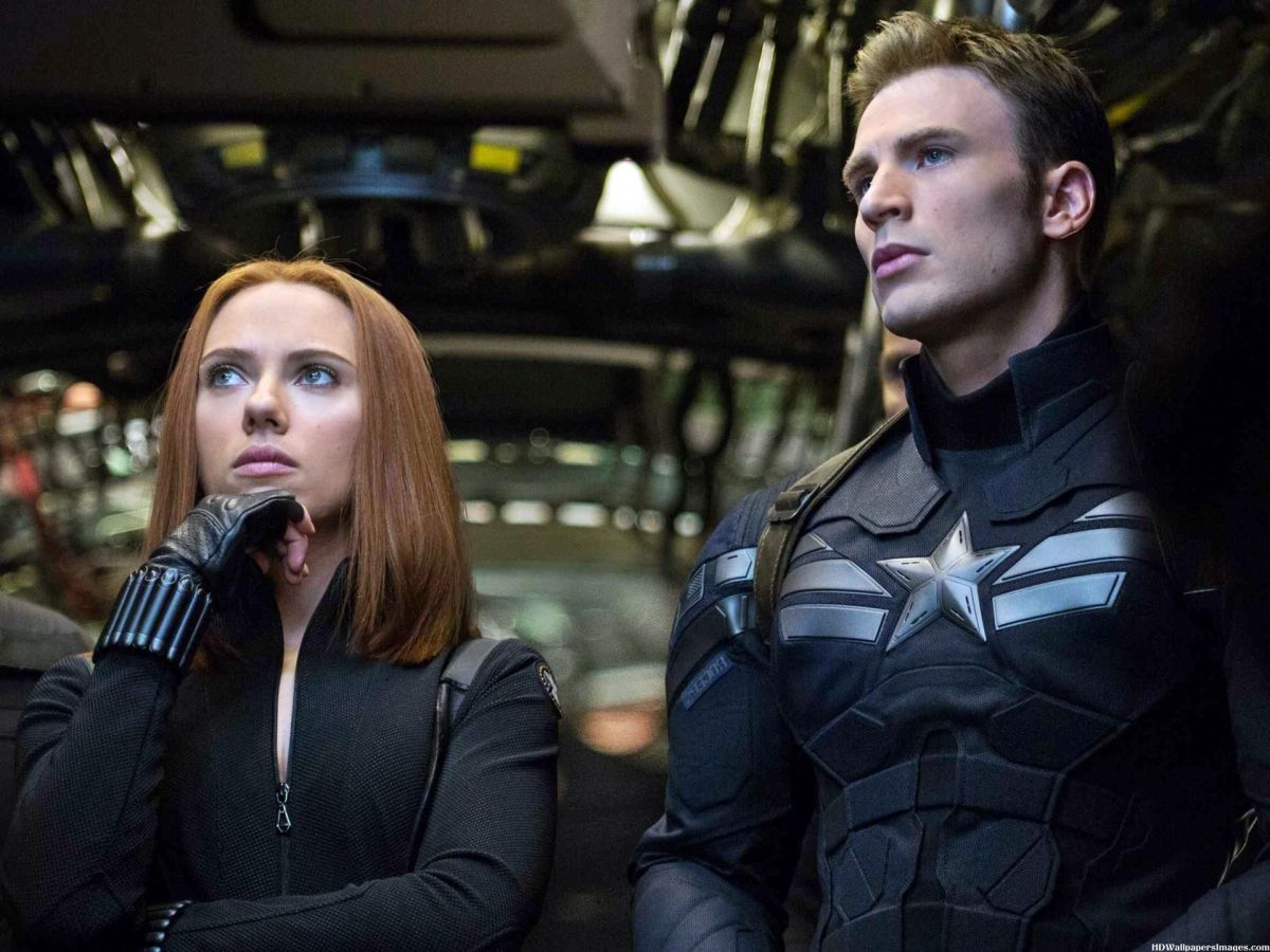 "Scarlett Johansson (left) returns as Black Widow in ""Captain America: The Winter Soldier"""