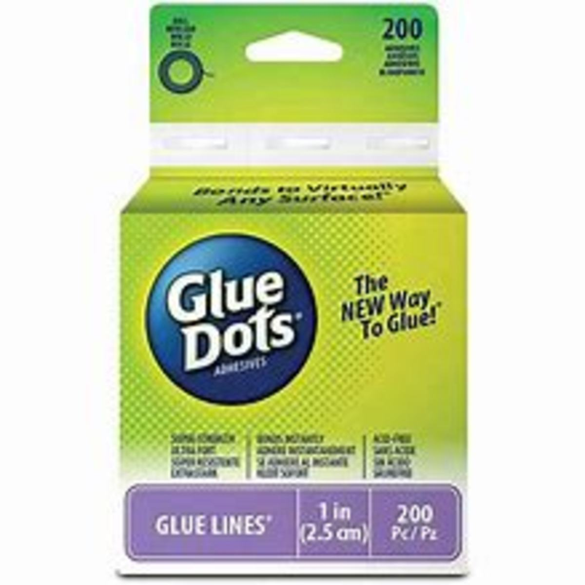 Glue dots come on sheets, rolls and in dot rollers