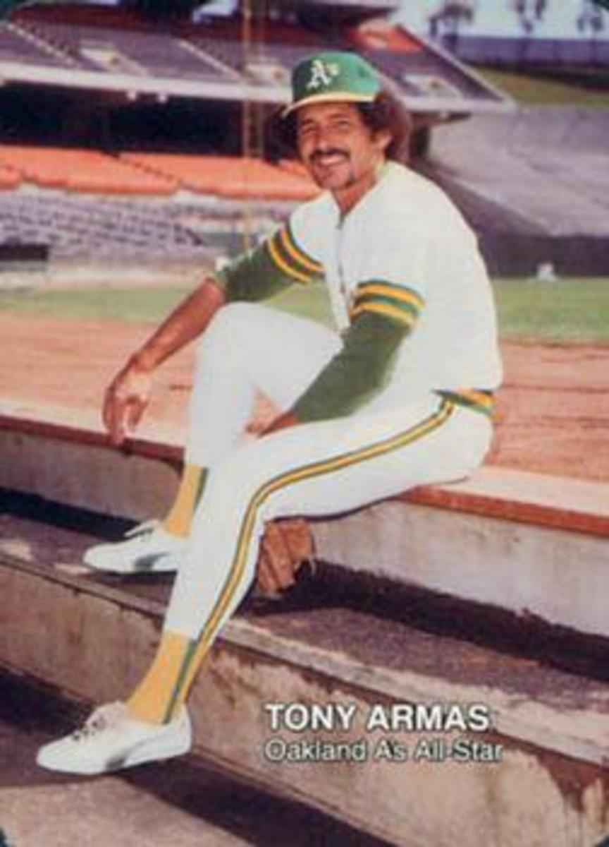 Tony Armas Sr. led the American League in home runs twice during the 1980s.
