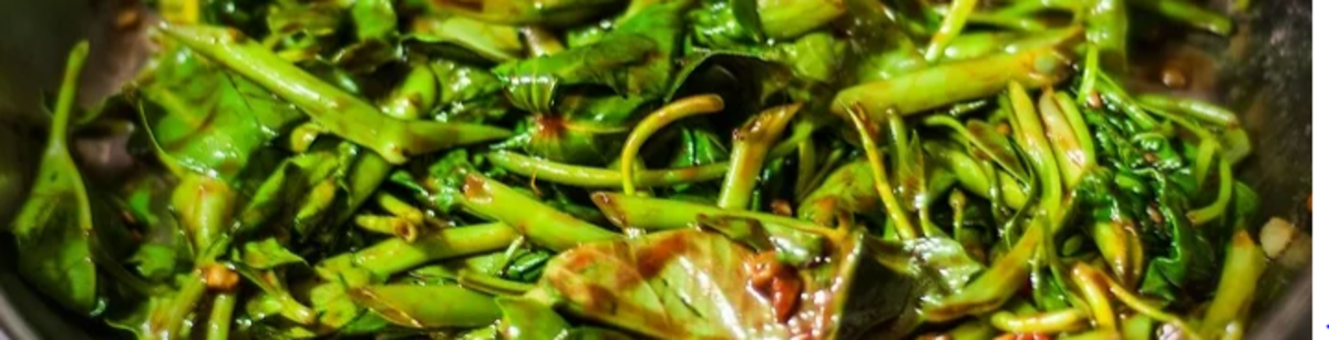 All Time Favorite Adobong Kangkong with Oyster Sauce and Tofu - Classic Stir Fry Filipino Recipe