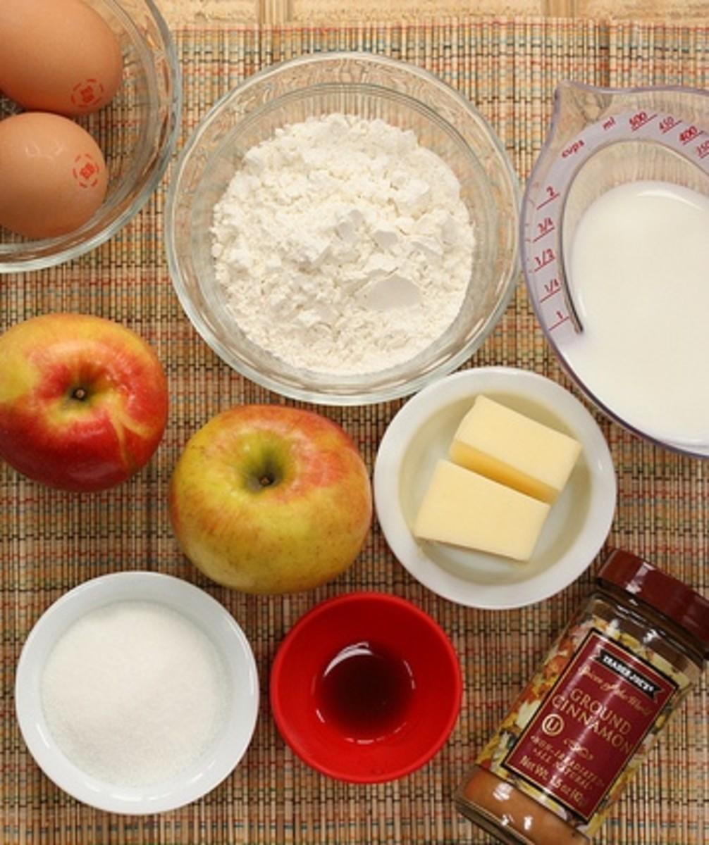 Ingredients for Apple Mincemeat Pie