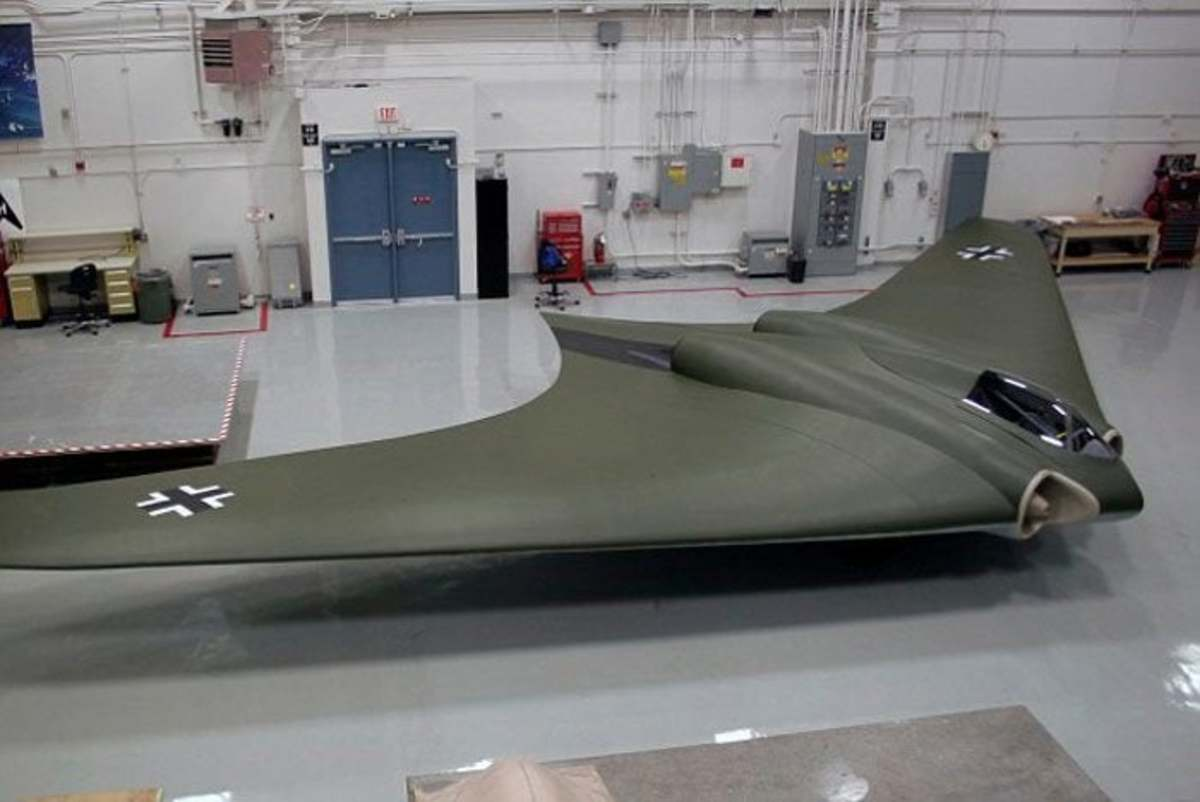 The Horten HO 229 is Not an Early Stealth Plane