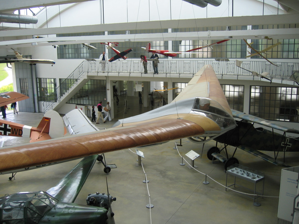 the H.IV, a glider that the Hortens built.