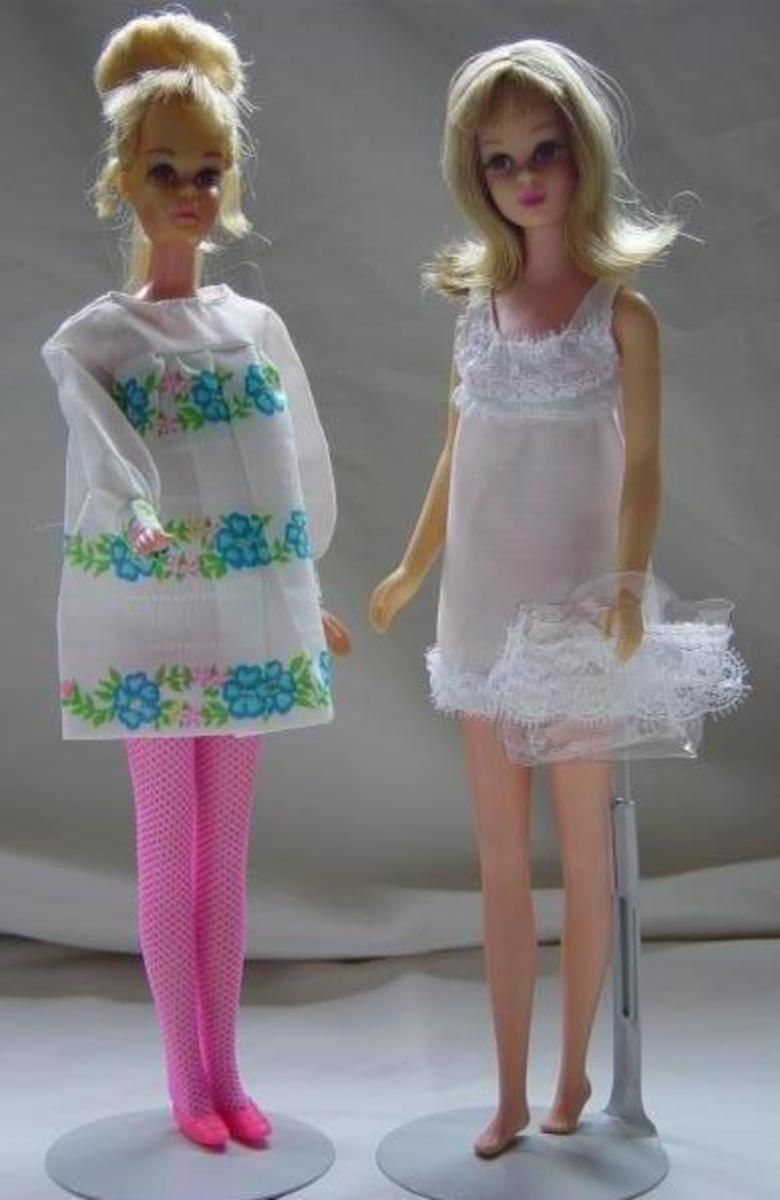 Francie Doll S Crazy Mod Clothes 1969 Hubpages