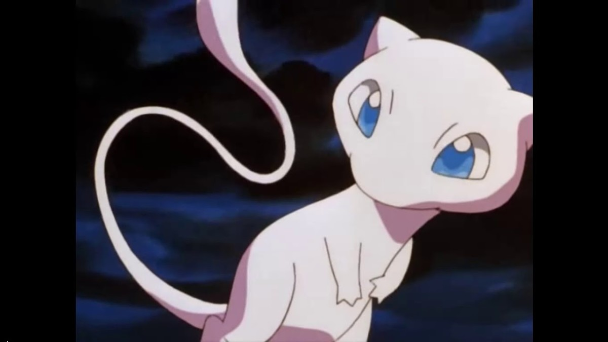 "Mew in ""Pokémon: The First Movie"""