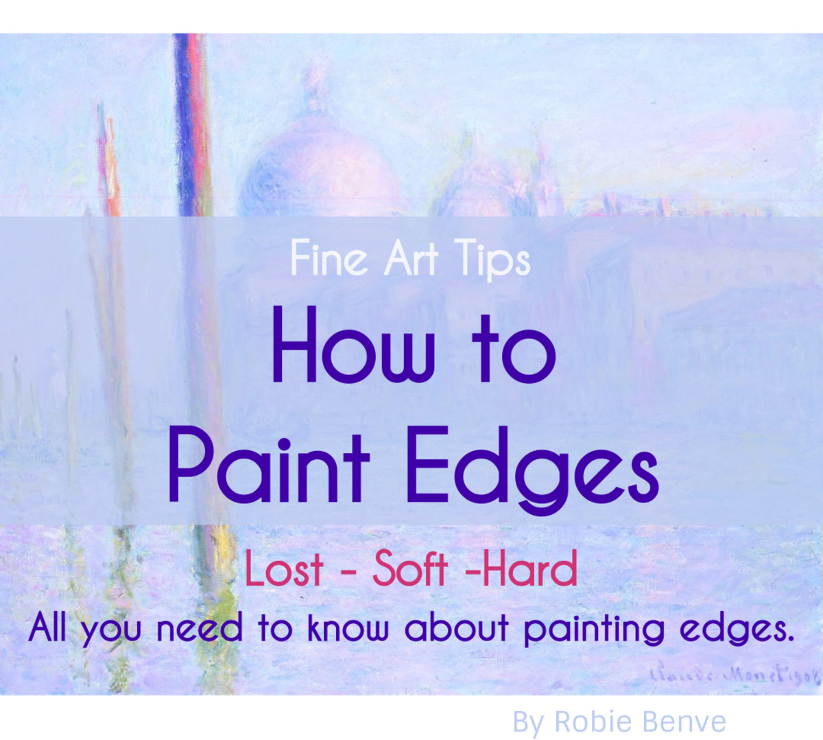 Everything a painter needs to know to paint edges in a descriptive way and create good transitions between shapes that guide the eye of the viewer through the picture plane.