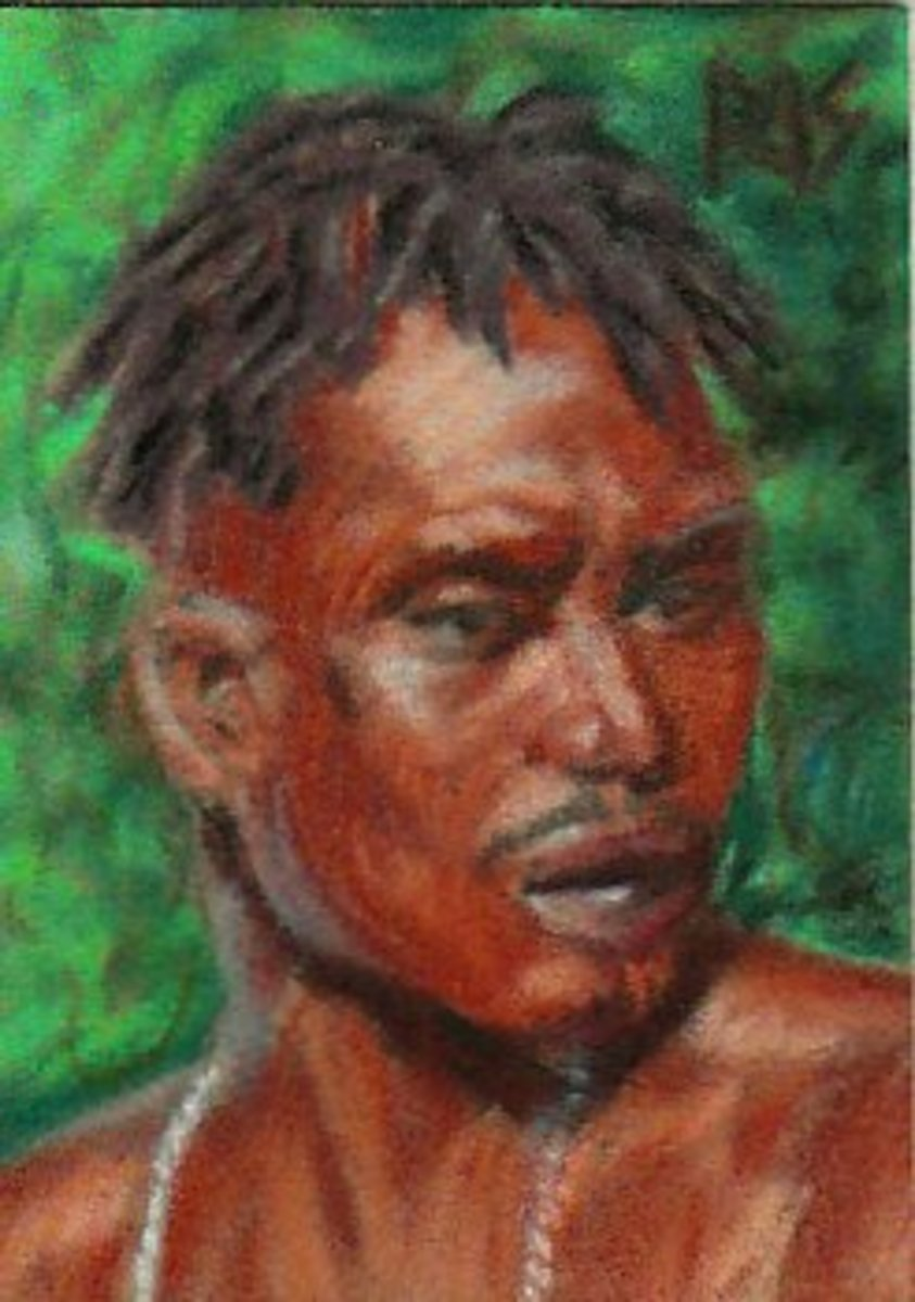 Masai Man by Robert A. Sloan