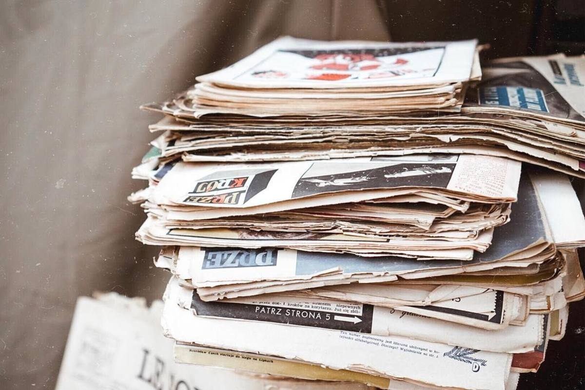 Remove unused papers in your home.