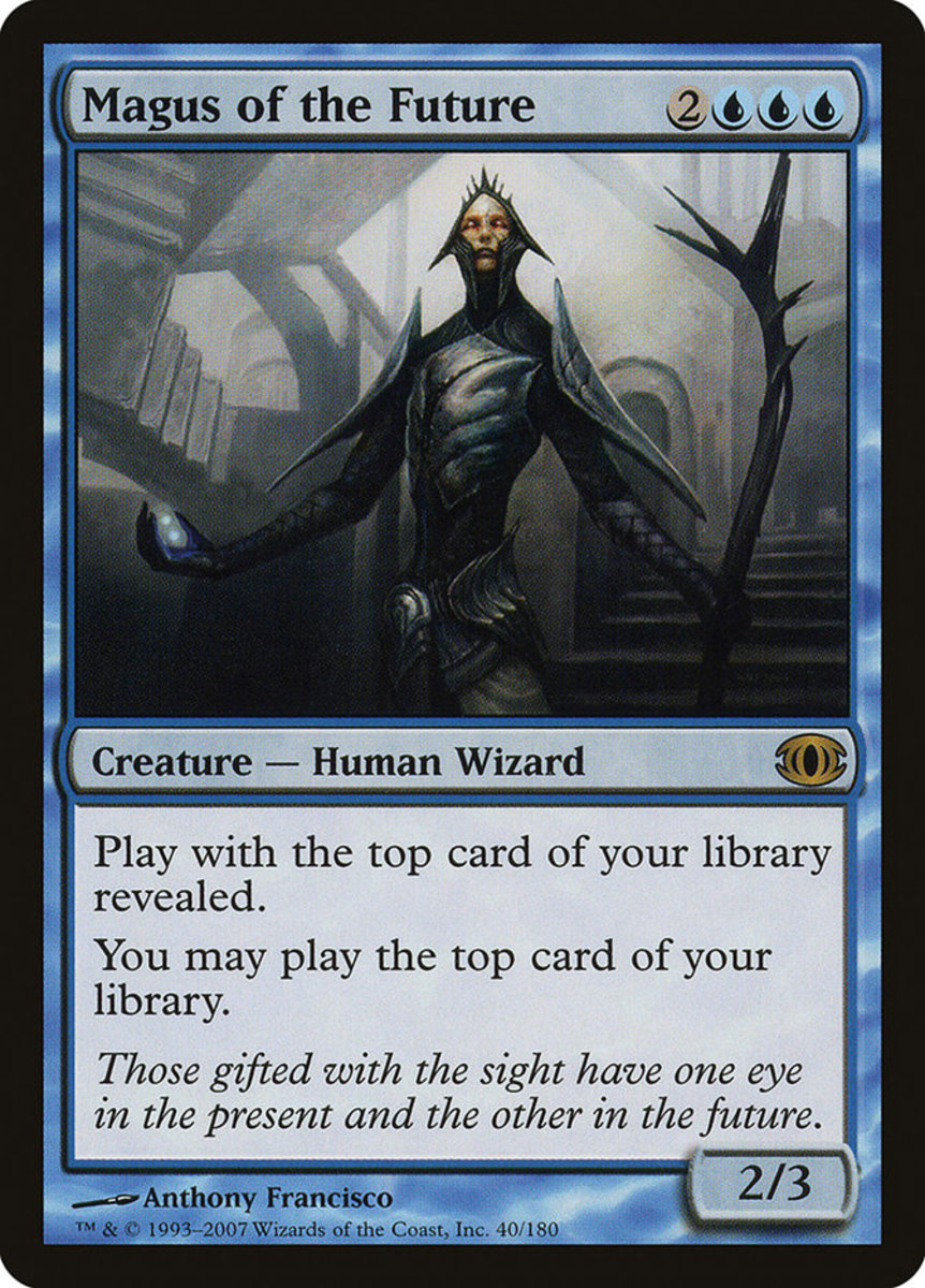 Magus of the Future mtg