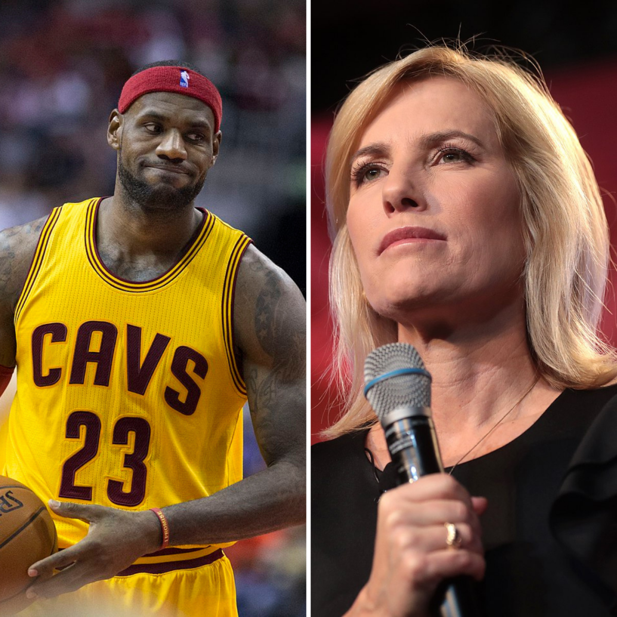"Laura Ingraham tells LeBron James to ""shut up and dribble."""