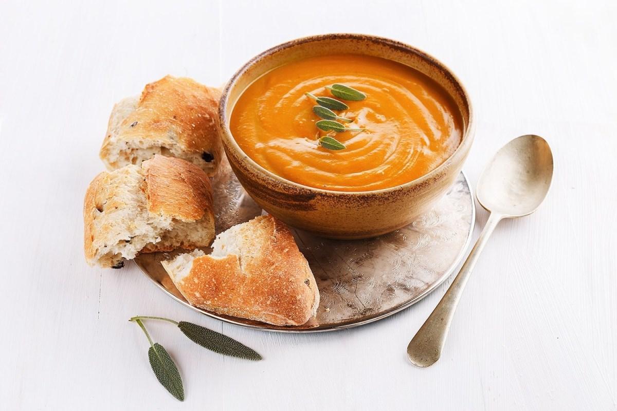 Recipe Savory Pumpkin Soup