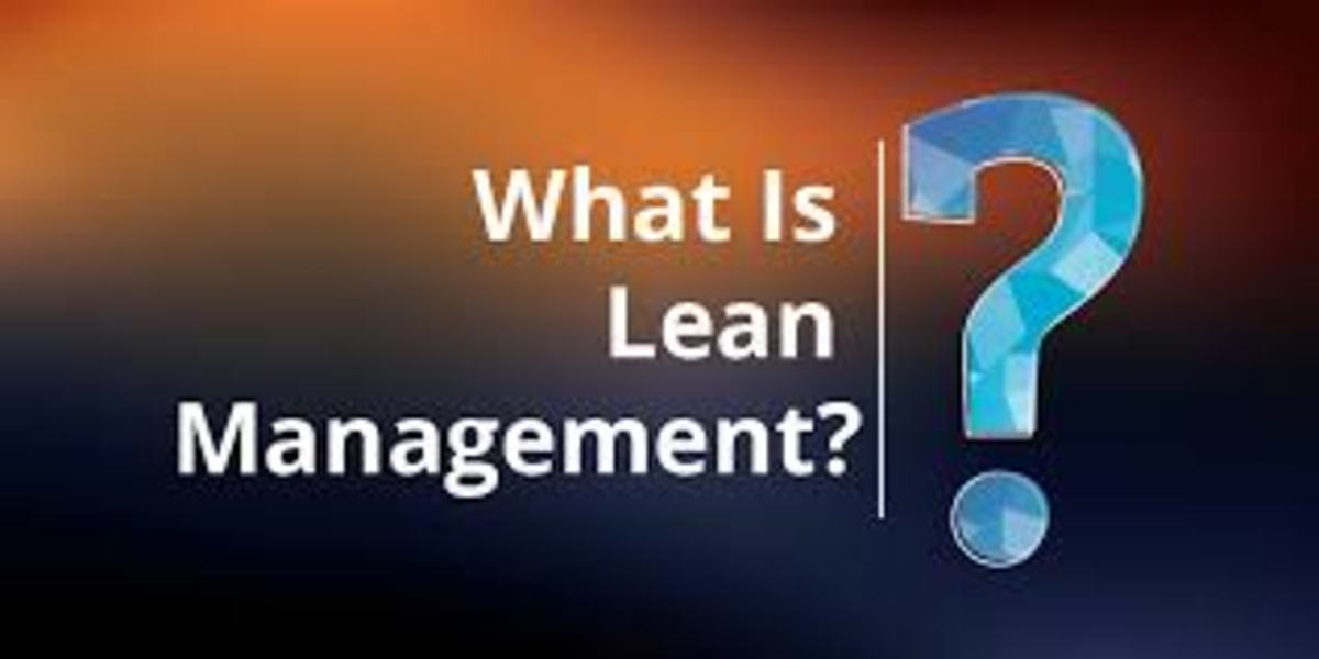 The Four Cornerstones of Lean Management