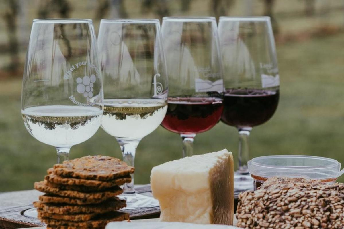 Consider hosting a virtual wine tasting!