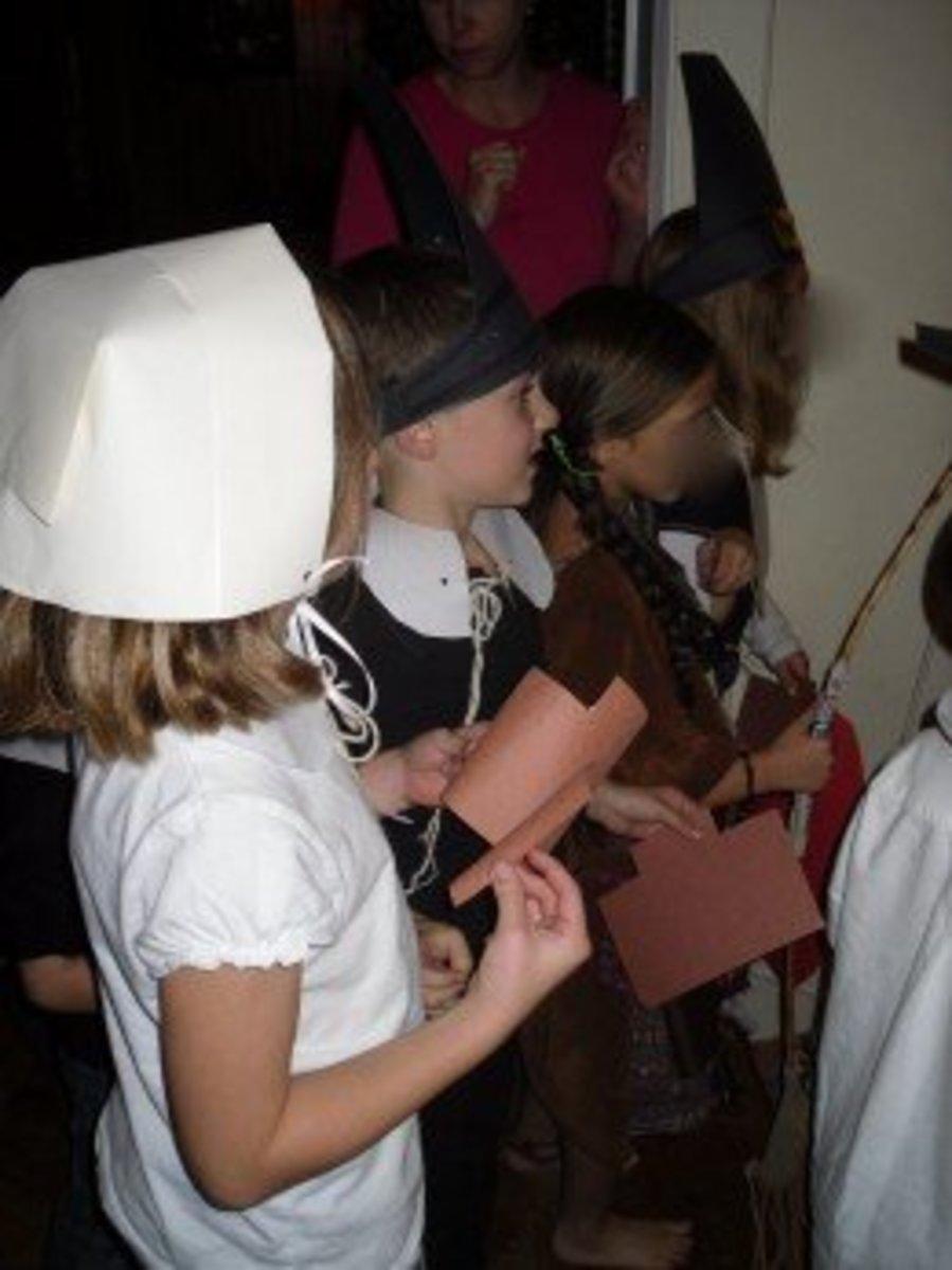 Children's Thanksgiving Performance