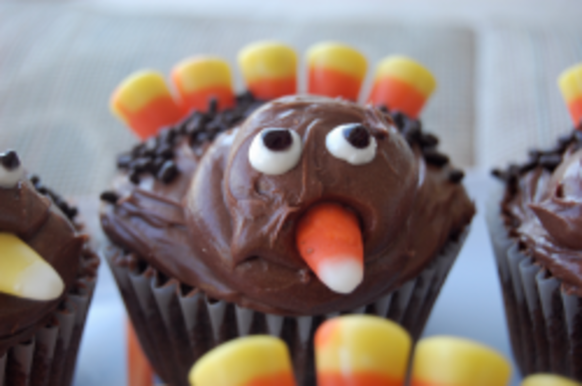 How to Make Edible Turkey Decorations