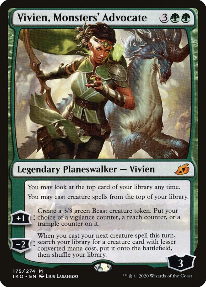 Vivien, Monsters' Advocate mtg