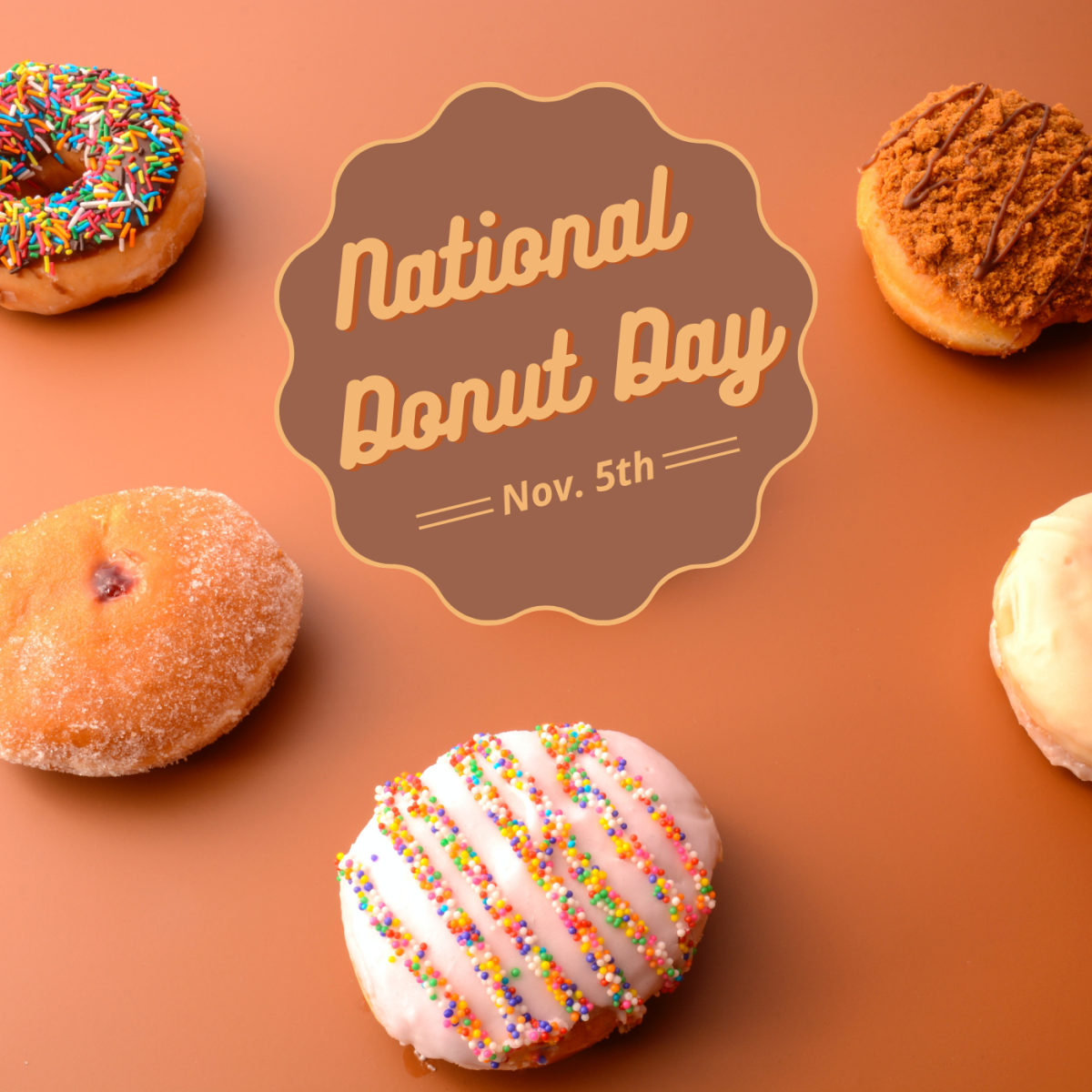 National Donut Day is on November 5th. How will you celebrate?