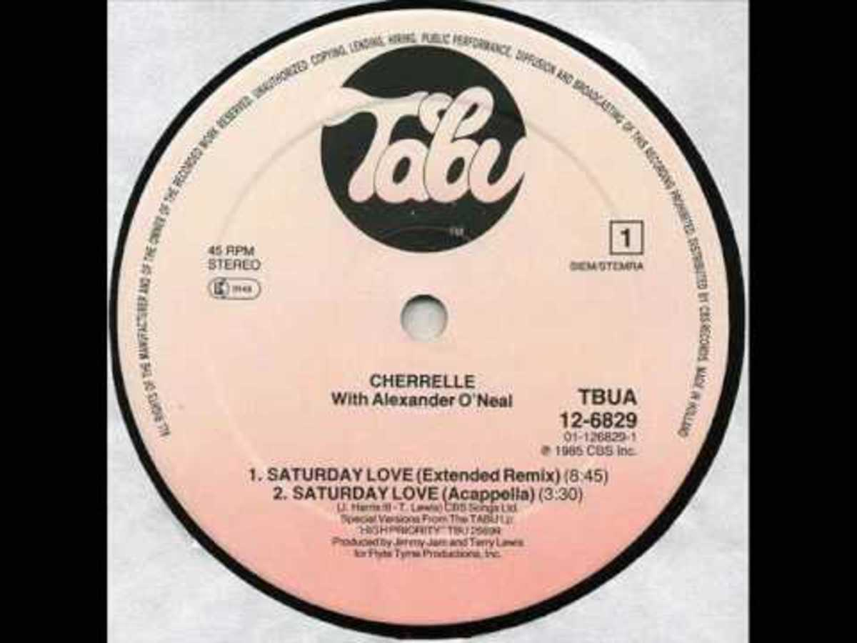 "Cherrelle and Alexander O' Neal's 80s classic ""Saturday Love"""