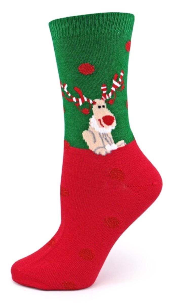Reindeer Sock Designs