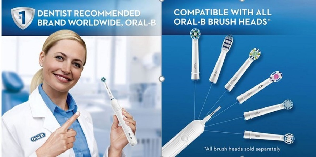 The Oral-B Pro Electric is the #1 best-selling rechargeable toothbrush on Amazon.
