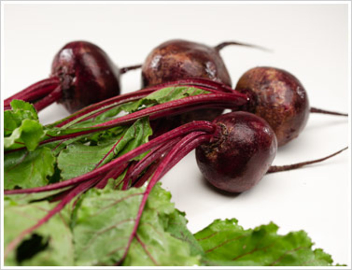 Beets lower high blood pressure.