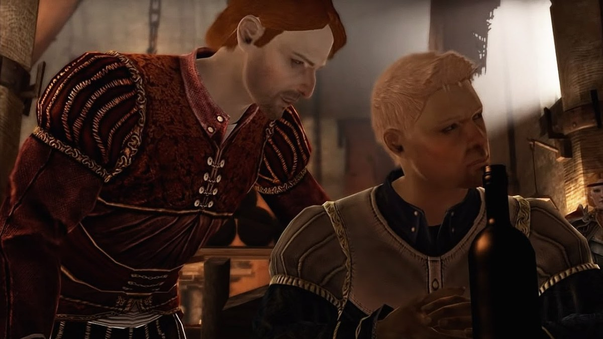"""Alistair is a wandering drunk in """"Dragon Age 2."""""""