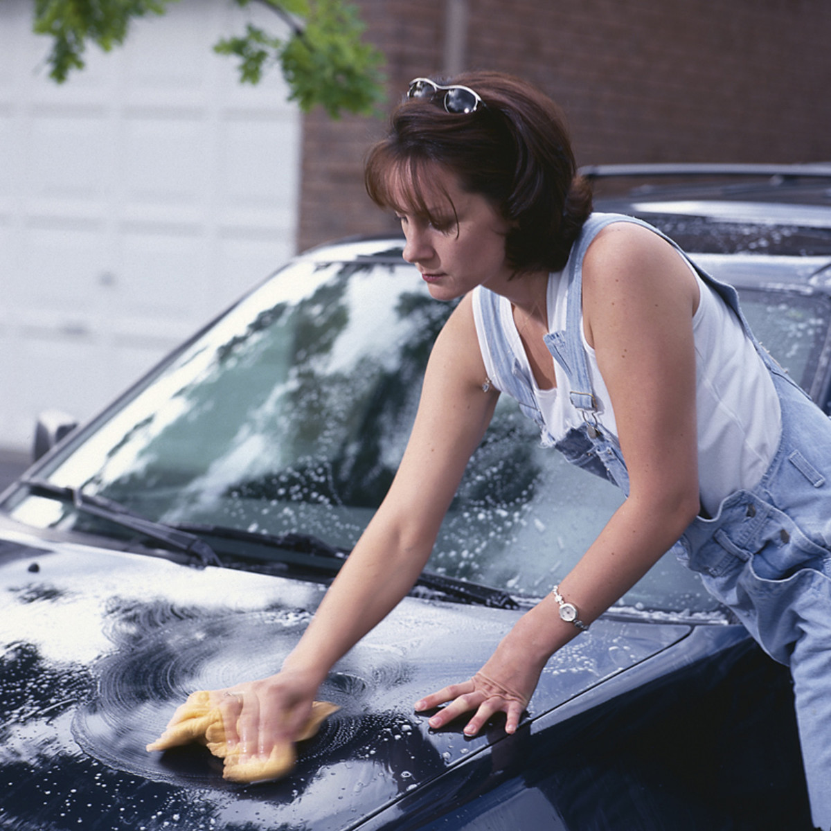 Washing your car the right way.