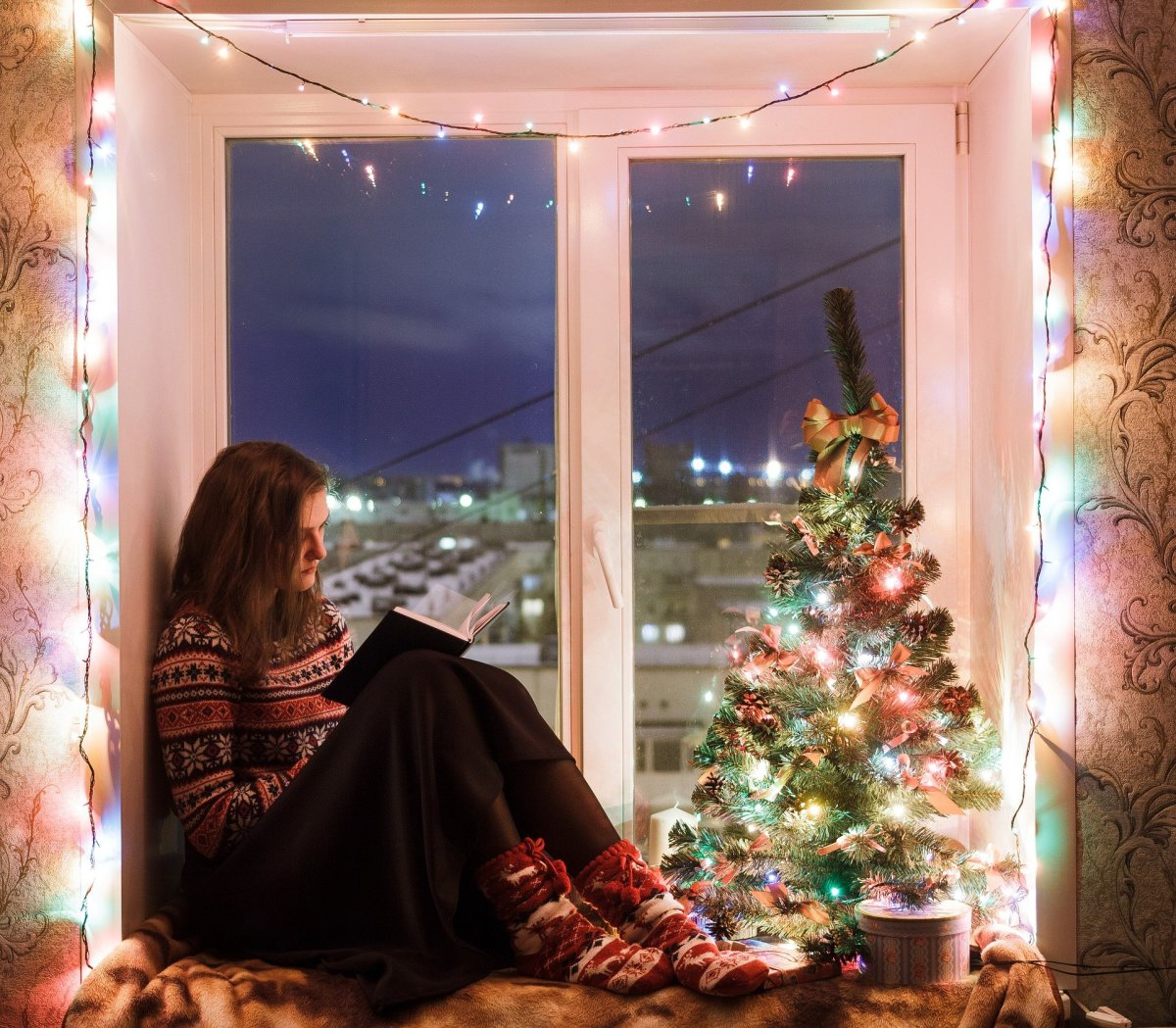 Learn how to enjoy the holidays alone.