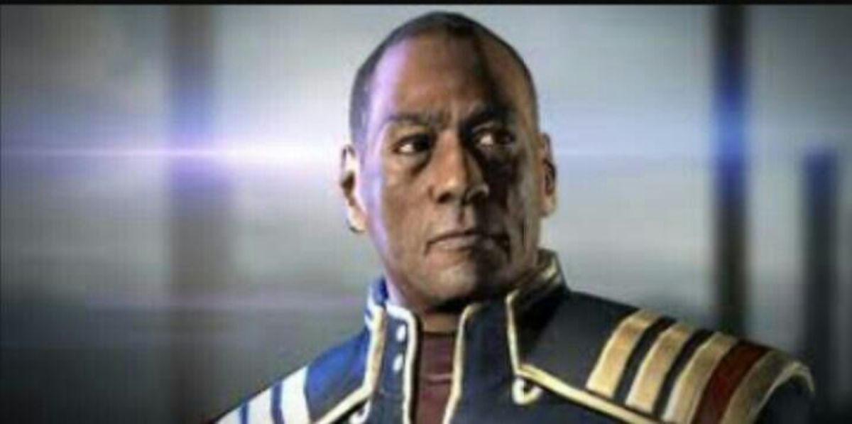 """Anderson as he appears in """"Mass Effect 3."""""""