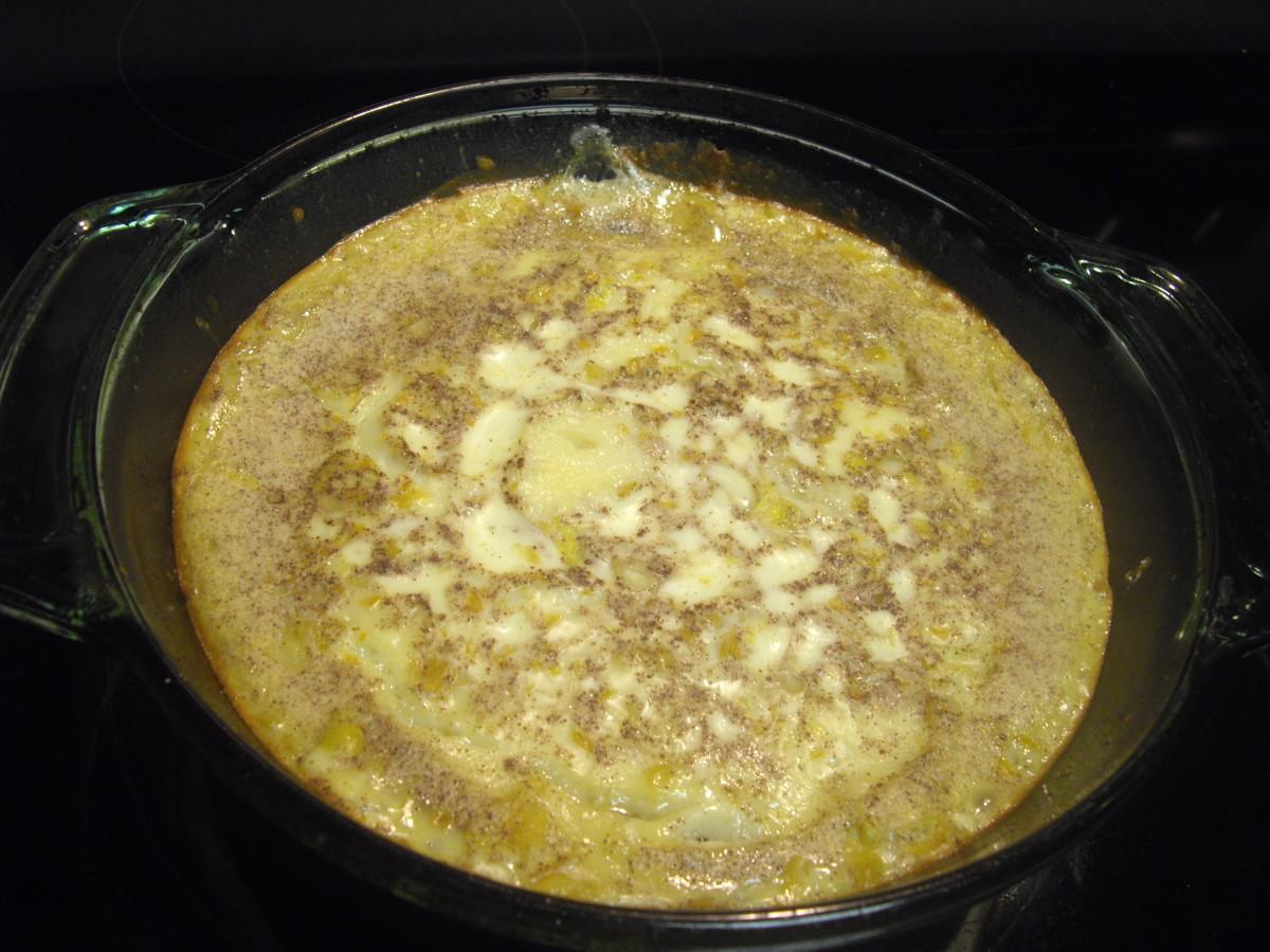 Sweet Southern Corn Pudding