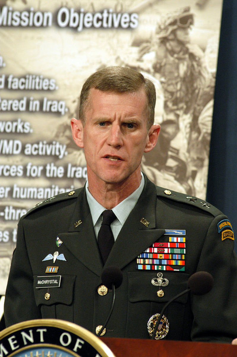 """Retired General Stanley McChrystal eats only one meal a day and he is 60 years old now. Wikipedia lists all the medals that he is wearing. Ben Franklin says """"To lengthen thy life, lessen thy meals."""""""