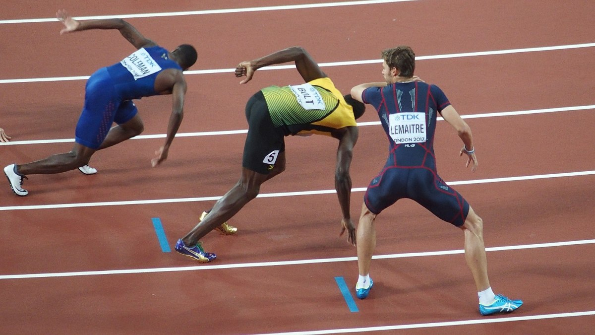 While the average person runs at around 11 mph, Usain Bolt clocked a top speed of 29.55.