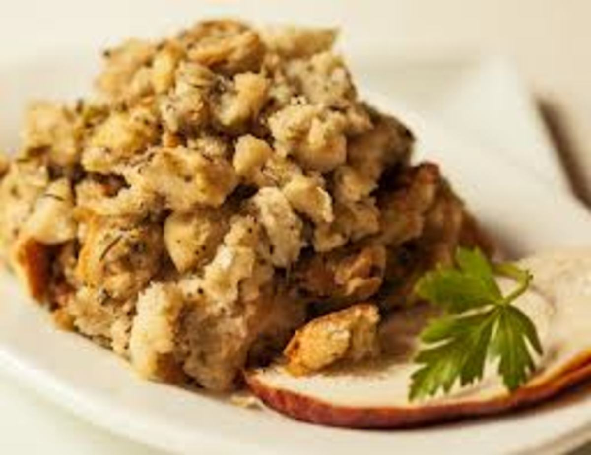 Example of Thanksgiving Stuffing