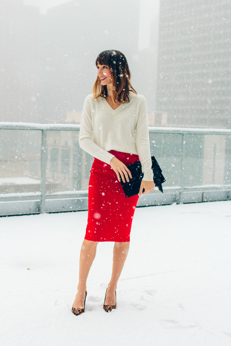 Casual or Dressy Christmas Outfit