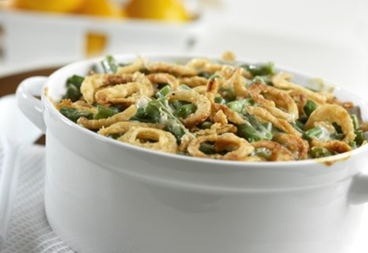 The Green Bean Casserole Revisited And Oh So Delicious