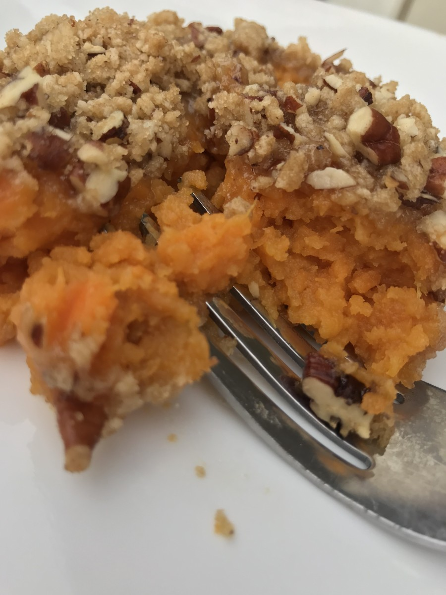 Classic Southern Sweet Potato Casserole - perfect for Thanksgiving and Christmas.