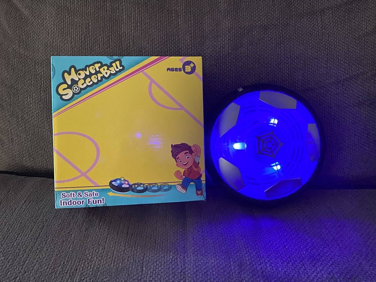 Stocking Stuffer: A Review of the Upgraded MelMelKat Rechargeable Hover Soccer Ball