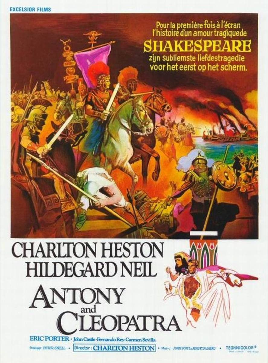 Antony and Cleopatra (1972) French poster