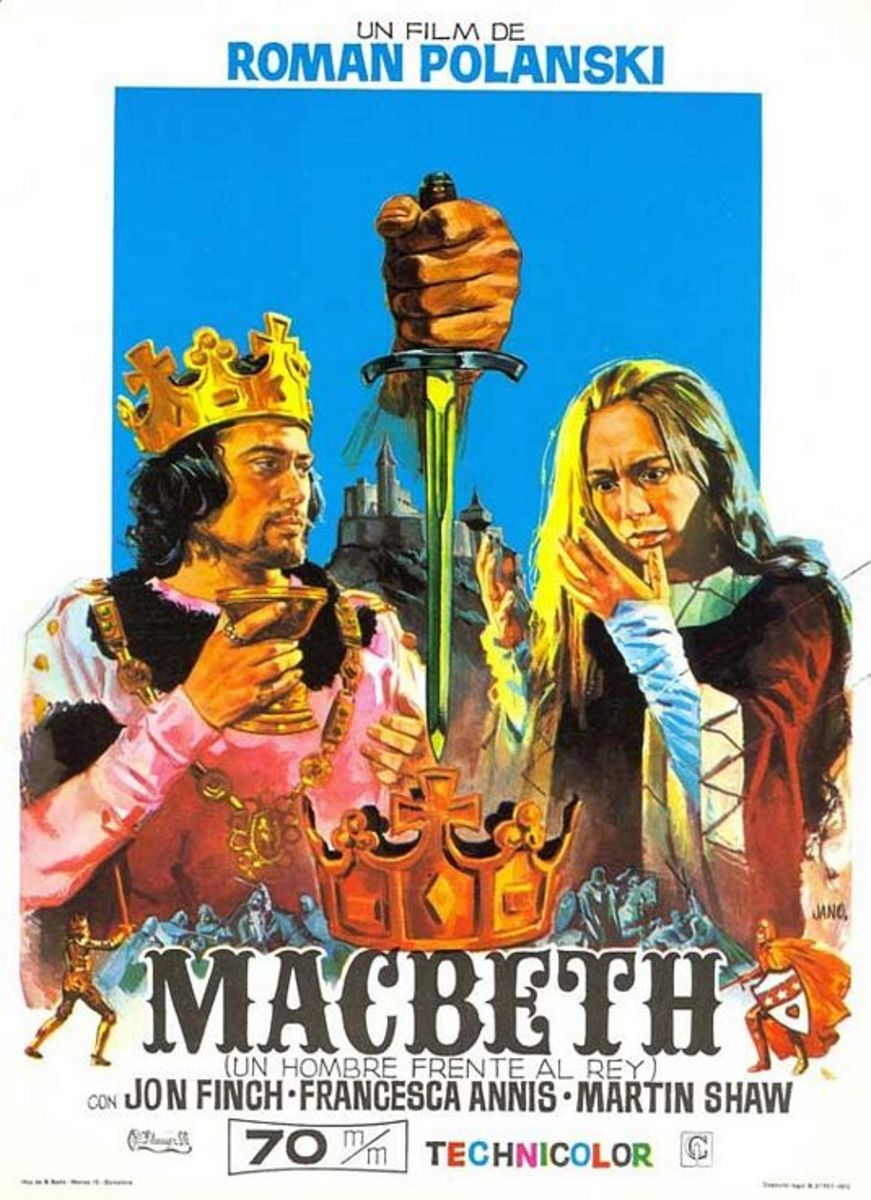 Macbeth (1971) Spanish poster