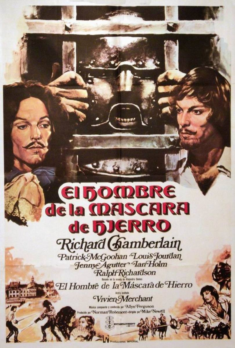 The Man in the Iron Mask (1977) Spanish poster