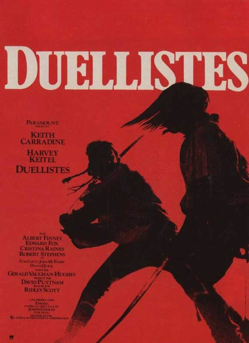 The Duellists (1977) French poster