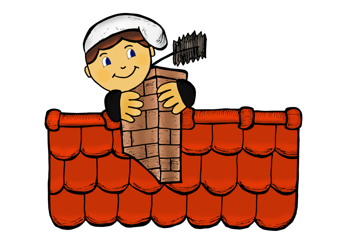 A chimney sweep illustration.