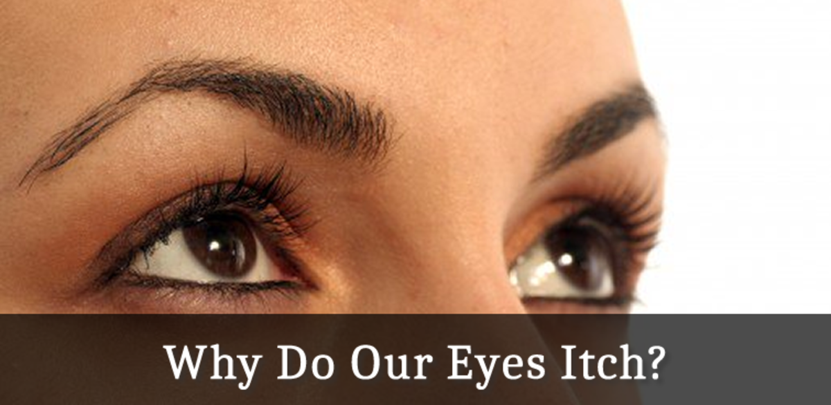 Why Do Our Eyes Itch?   HubPages